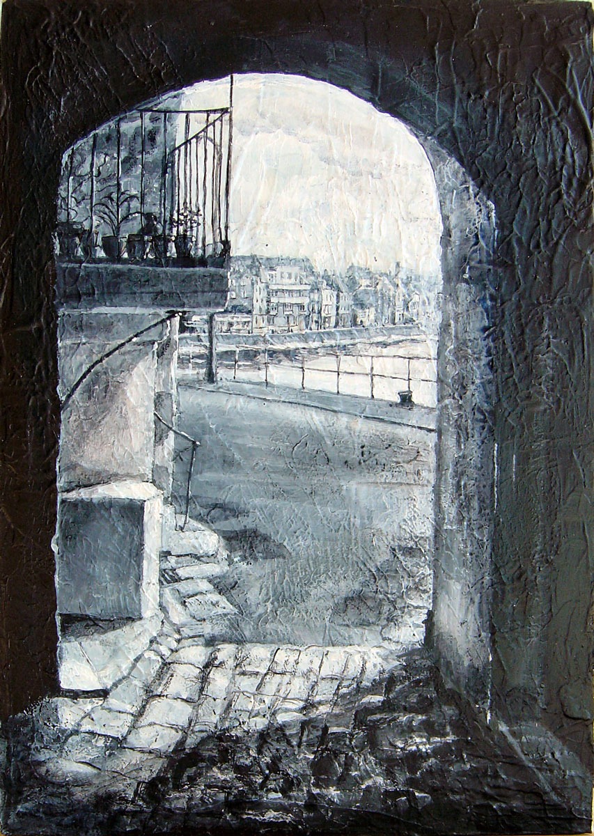 Archway, St. Ives 29 x 20 cm