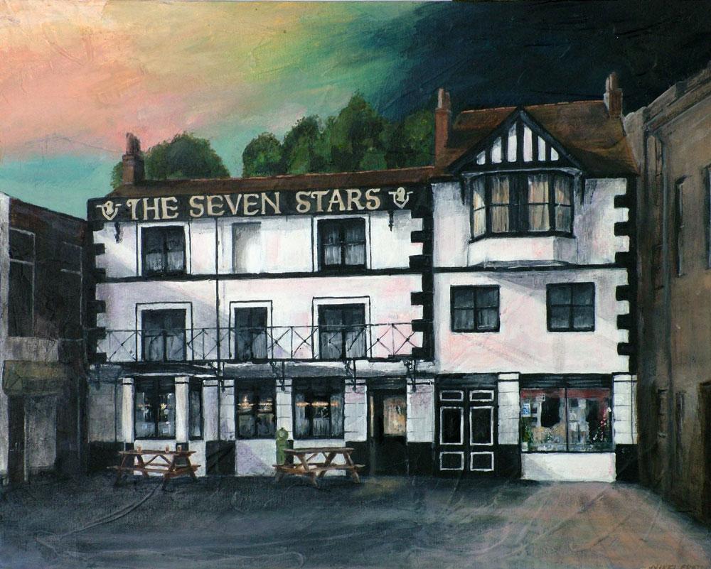 The Seven Stars, Falmouth 40 x 50 cm