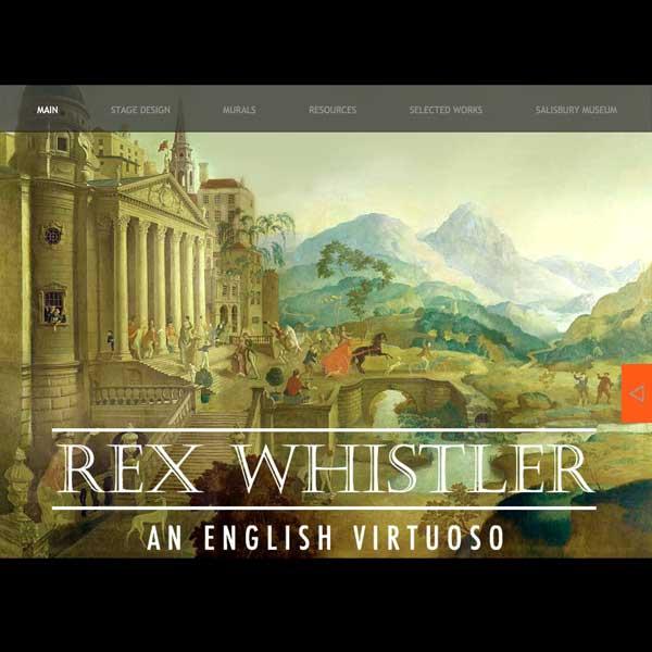 Rex Whistler website