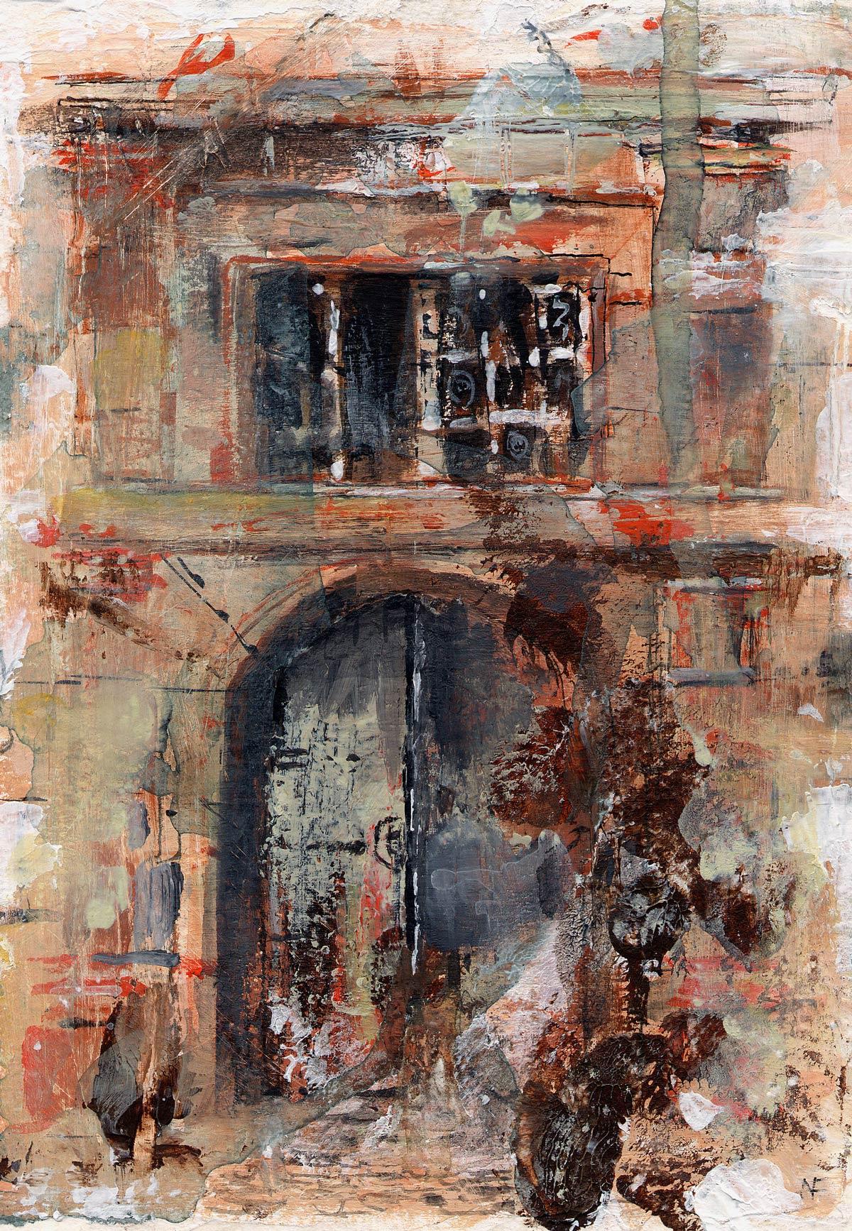Chateau du Sirey III 17 x 12 cm
