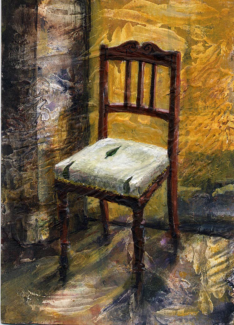 Christmas Chair 18 x 12.5 cm