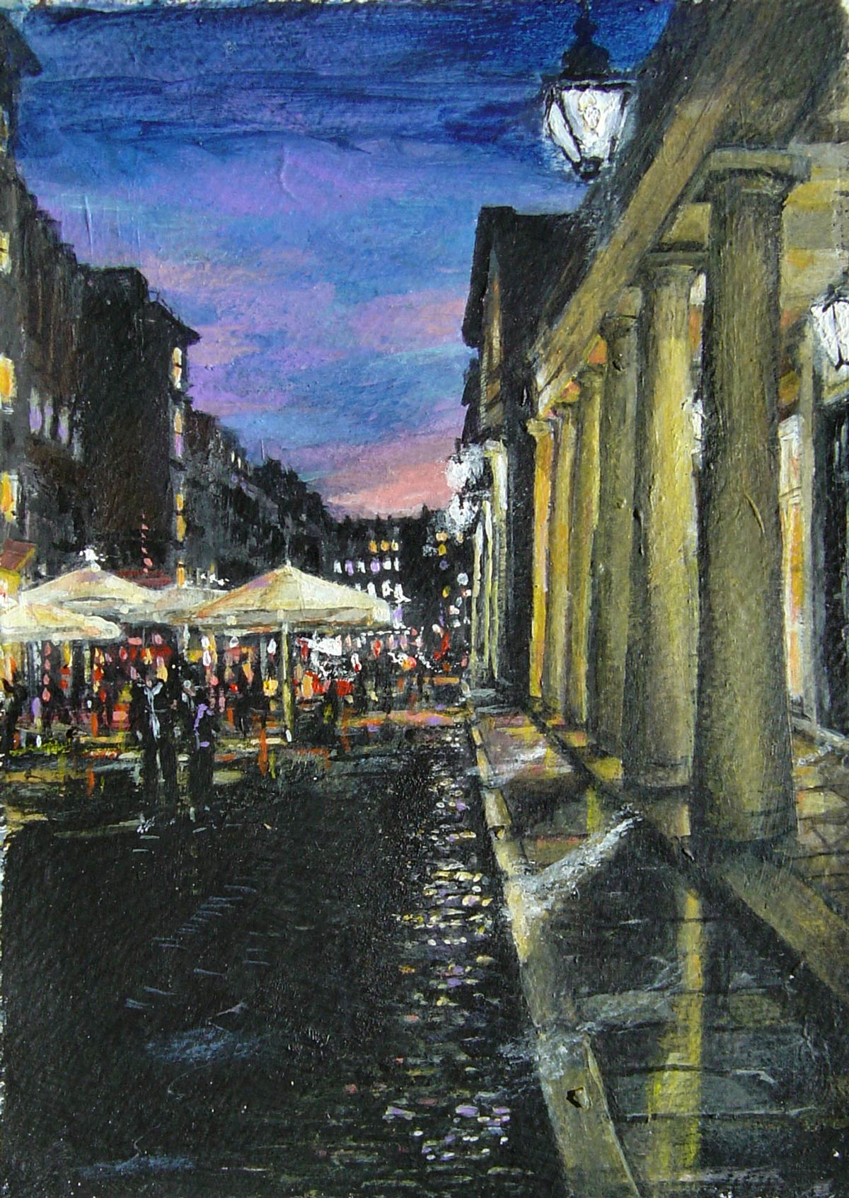 Covent Garden Sunset 18 x 13 cm