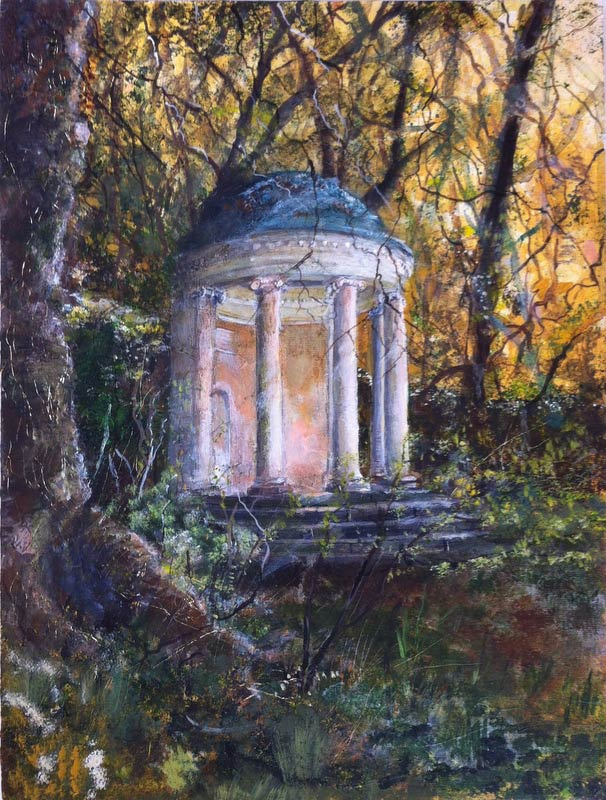 Folly at Mount Edgcumbe 40 x 30 cm