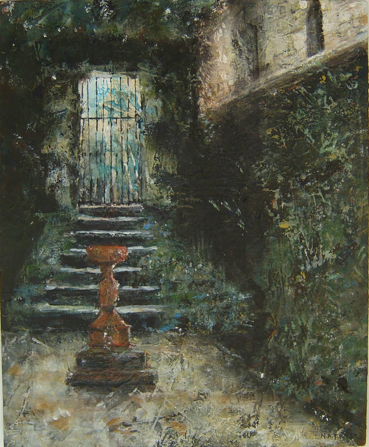 Les Jardins du Manoir 36 x 29 cm
