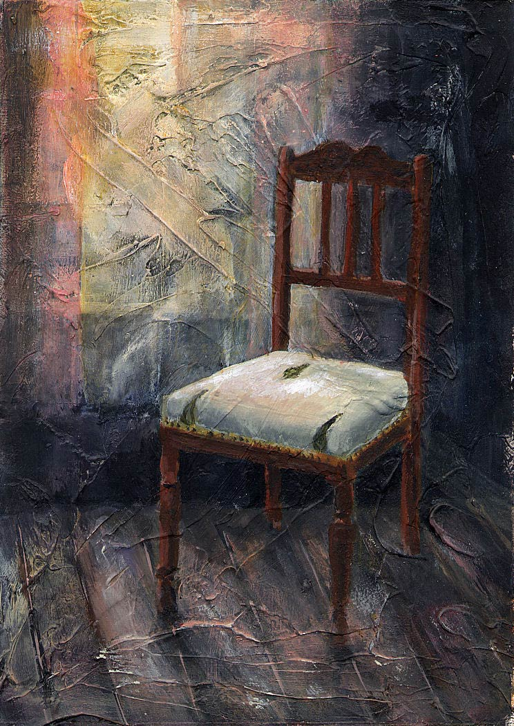 Louise's Chair II 18 x 12.5 cm