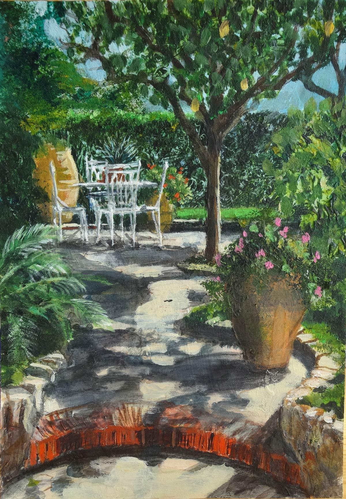Secret Garden Capri 18 x 15 cm