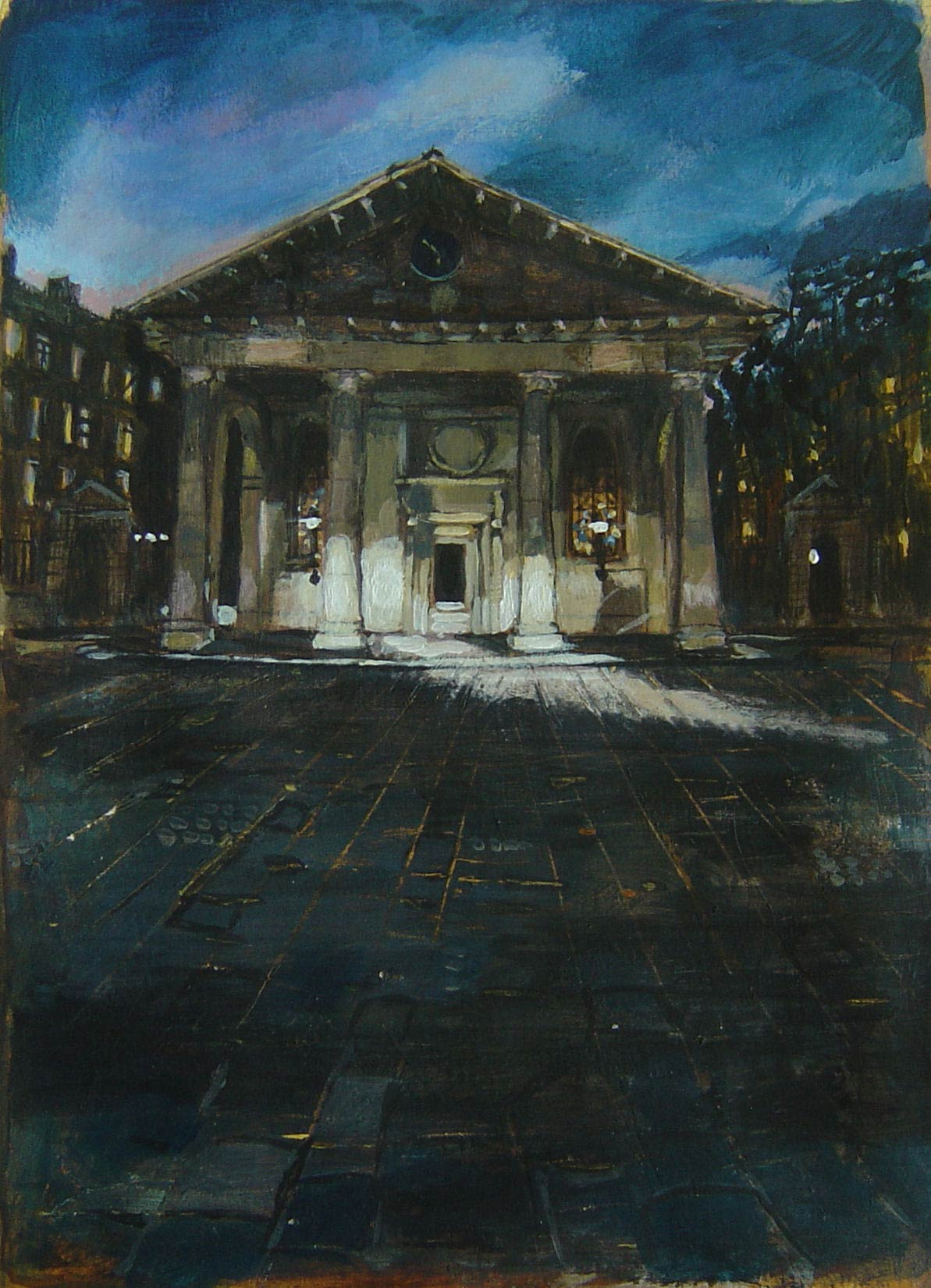 St Pauls Church Covent Garden 18 x 13 cm