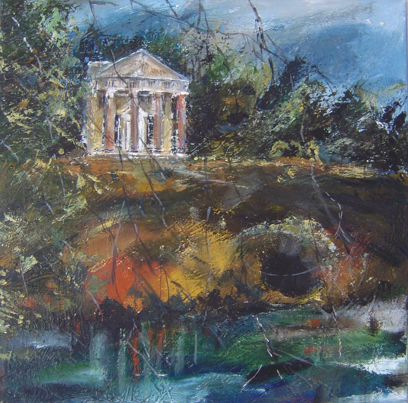 Temple of Flora Stourhead 41 x 41 cm