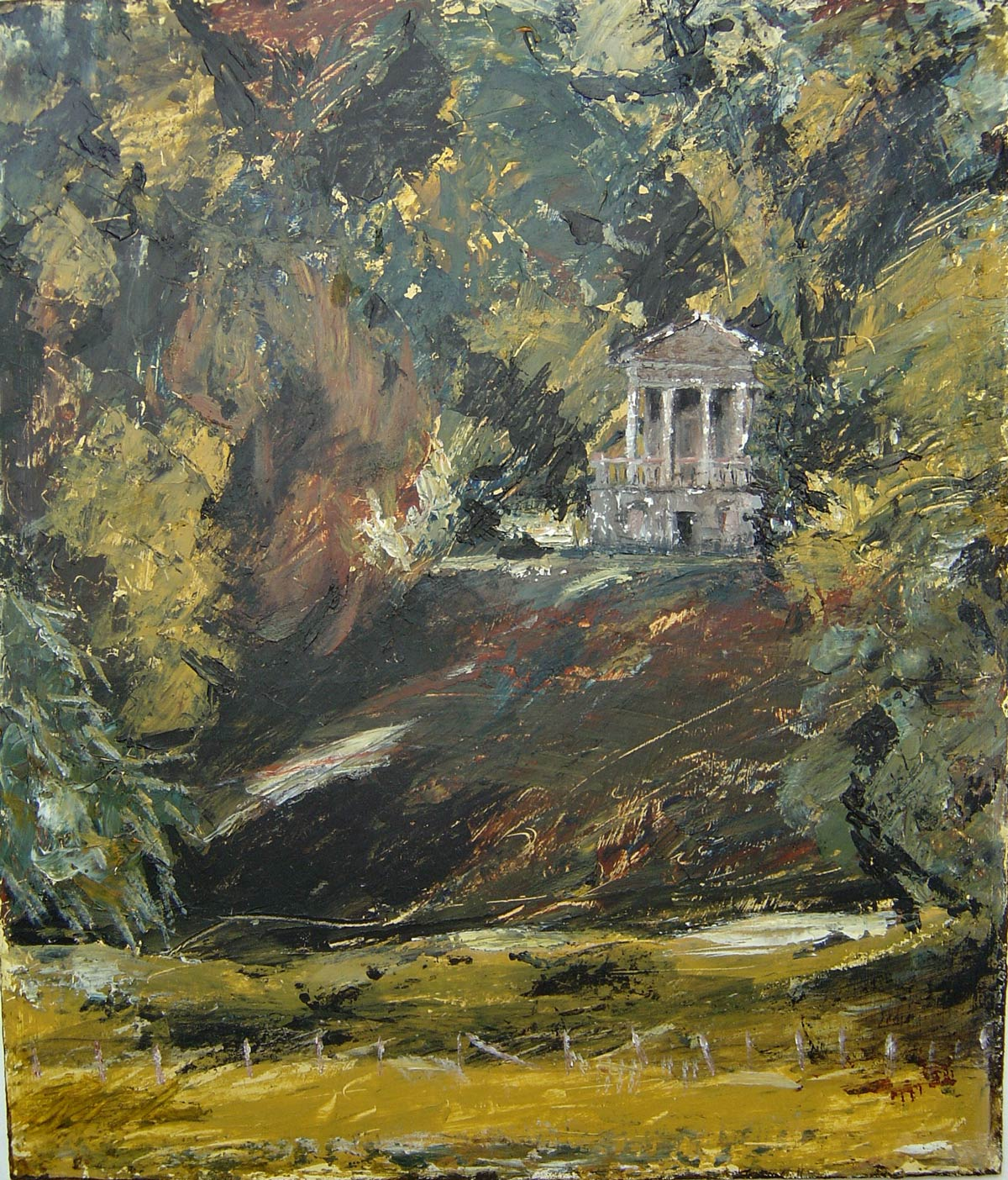 The Folly at Wilton 36 x 30 cm